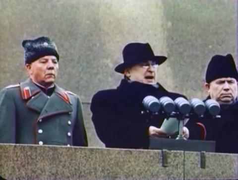 Солдатские беспорядки при Хрущеве.