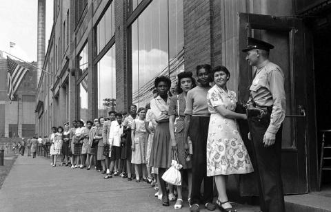Детройт 1940-х: ретро фотогр…