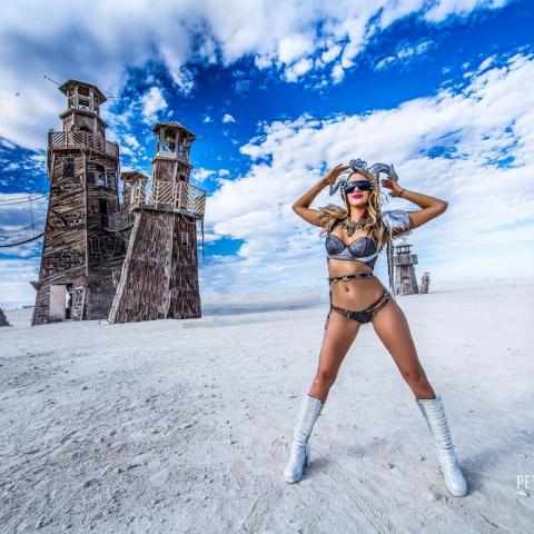 16 фотографий с безумного праздника искусства Burning Man 2016