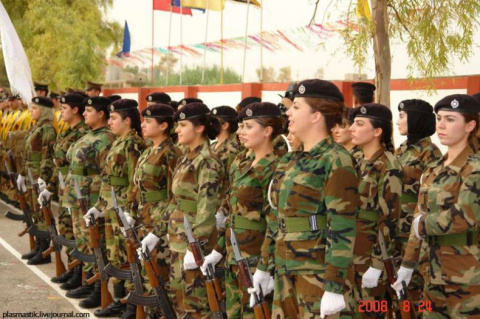 Женщины в армии!