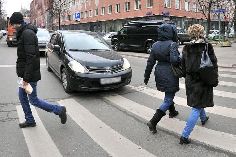 Не пропустил пешехода — гони 2500 рублей!