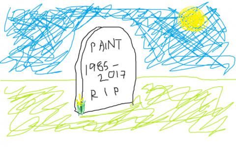 Соцсети оплакивают Paint: пр…