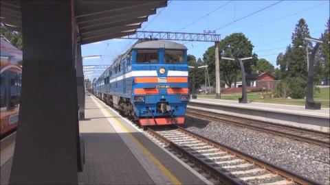 Эстонские железные дороги ра…
