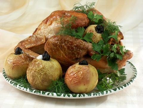 Запеченная индейка и еще 5 традиционных блюд на День Благодарения