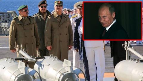 Ливийский кошмар Запада сбывается: Путин разделил страну на две части