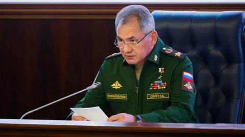 Глава Минобороны РФ рассказа…