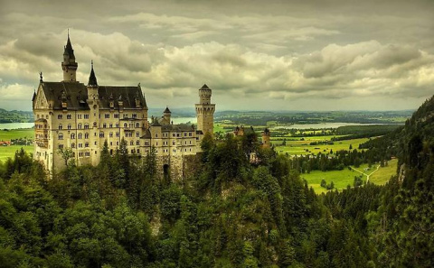 Замок Нойшванштайн, Германия (Schloß Neuschwanstein)