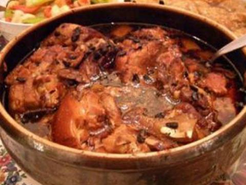 Рецепт верещаки (тушеная грудинка в квасу)