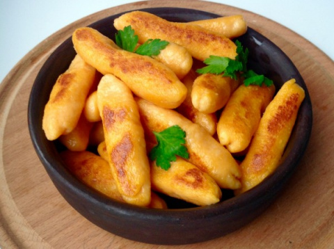 Вкуснейшие творожено-бататовые палюшки