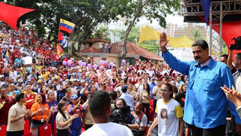 Глава Венесуэлы требует неме…