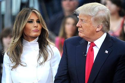 Трамп поругался с женой — СМИ