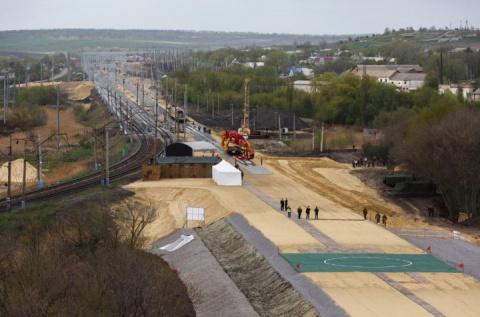 Минобороны озвучило дату запуска железной дороги в обход Украины