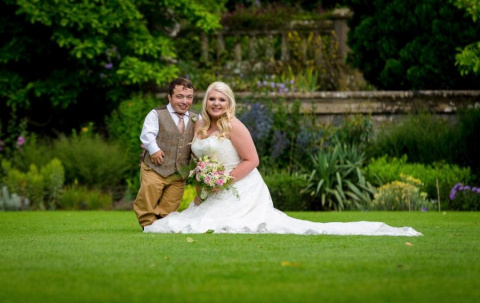 Уникальная свадьба со стремянкой