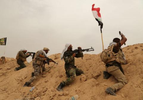 Хладнокровный иракец: боец о…