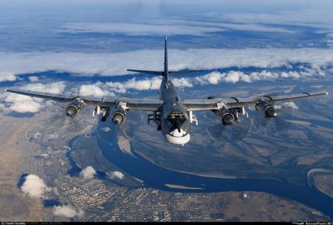 Ту-95МС идёт в Сирию