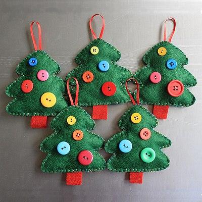 Новогодние поделки на елку игрушки своими руками фото