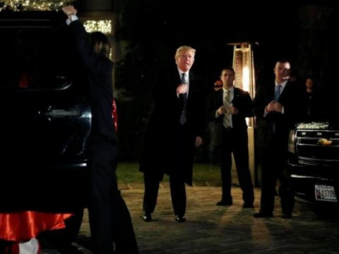 Трамп посетил донорскую вече…
