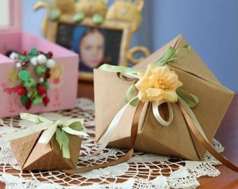 Упаковки подарков (Diy)