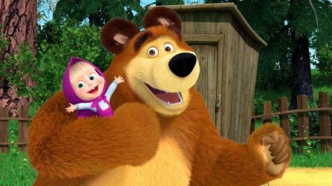 «Маша и медведь»: мягкая сил…