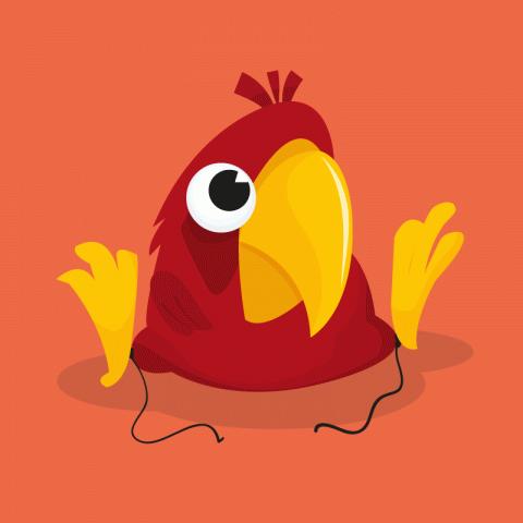 Воспитанный попугай
