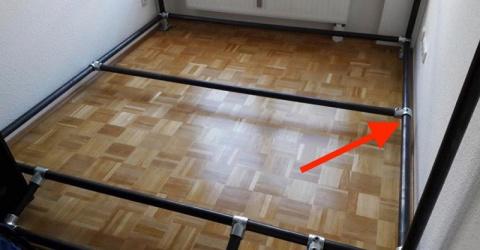 Преображение тесной комнатки…