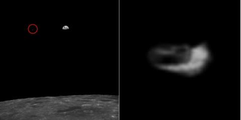 """Уфологи обнаружили на Луне """"мобильную станцию пришельцев"""""""
