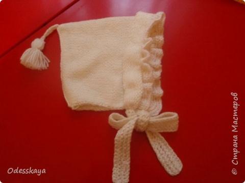 Вязаные шапочки,шарфики для малявки