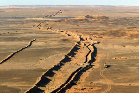 Самое длинное минное поле мира