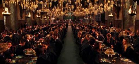 Летающие свечи Хогвардса (Diy)
