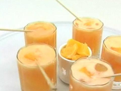 Цитрусовый безалкогольный коктейль