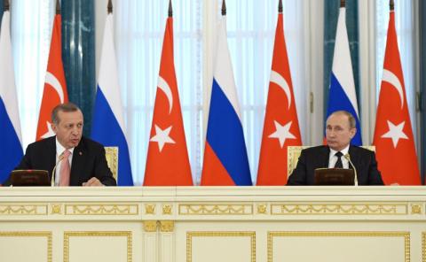 Пресс-конференция по итогам переговоров с Президентом Турции Реджепом Тайипом Эрдоганом