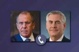 Лавров и Тиллерсон обсудили разрешение кризиса в Сирии