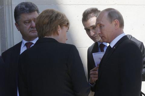 Как Порошенко Путина запугал