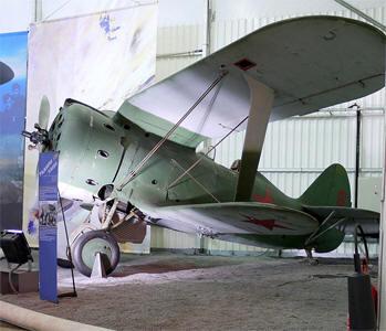 И-153 в музее Ле-Бурже.Франция,