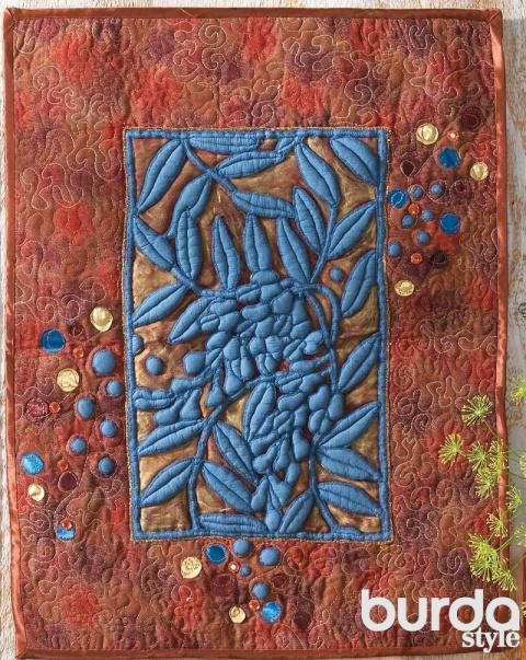 Панно «Цветущая глициния»: о…
