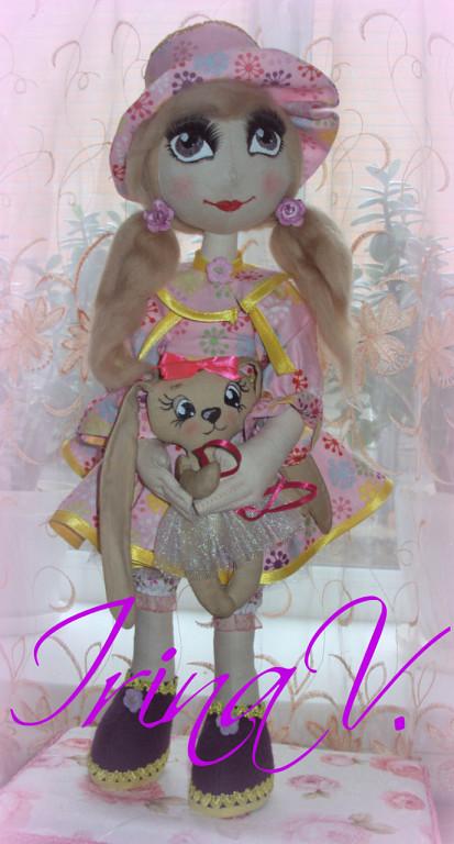 Текстильные куклы для души и настроения