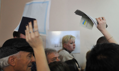 Бегом от Майдана. Русские покидают страну «победивших европейских ценностей»