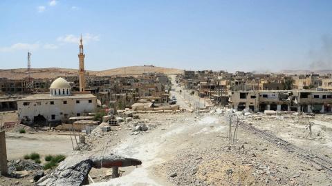 Сирия: в Дейр эз-Зоре впервы…