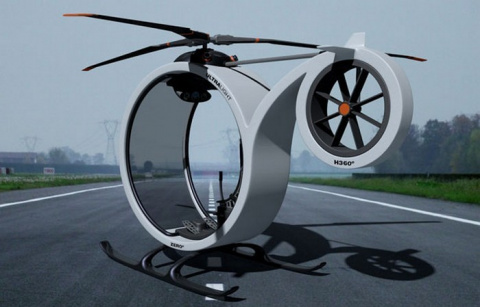 Вертолет ZERO – личный транс…