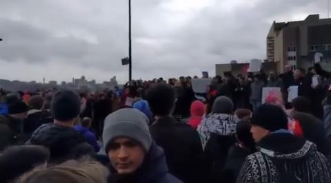 Украинский майдан в Москве: …