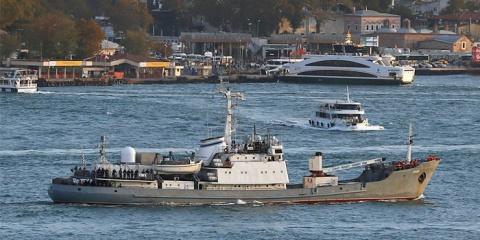 Команда затонувшего судна ЧФ успела уничтожить спецаппаратуру