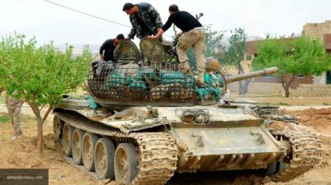 Сирийский танковый кулак: СА…