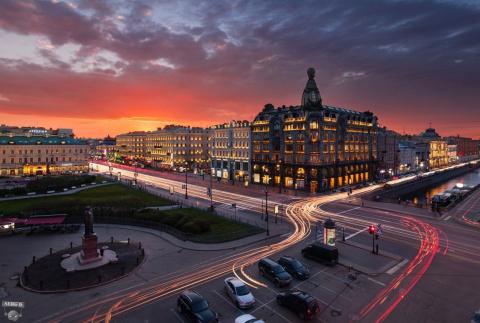 ПУТЕШЕСТВИЯ. Один день в Санкт-Петербурге
