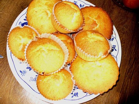 творожные кексы...вкусные..е. Фото-рецепт. Olga Dell