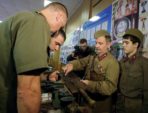 Бой поляка за память о советских воинах