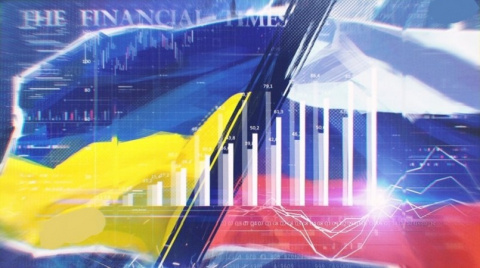 На российской игле: Украина …