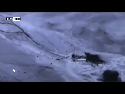 Сирийская авиация уничтожила колонну террористов ИГИЛ