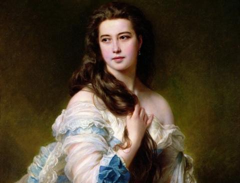 Как русская Венера покорила Париж и затмила французскую императрицу