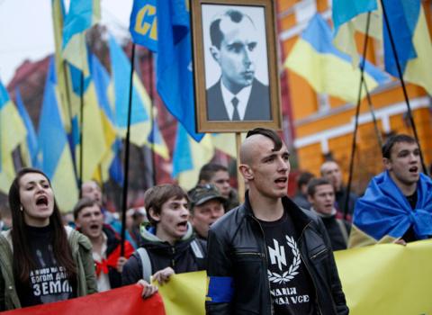 США установили нео-нацистское правительство в Украине