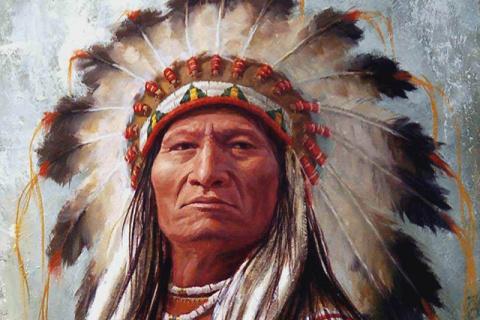 У старого индейца спросили, …